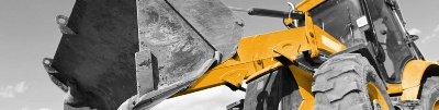 Earthmoving equipment, yellow goods